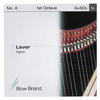 Bow Brand : Lever 1st G Nylon String No.6
