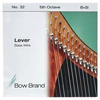 Bow Brand : BW 5th B Harp Bass Wire No.32