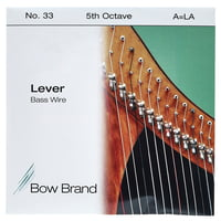 Bow Brand : BW 5th A Harp Bass Wire No.33