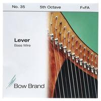 Bow Brand : BW 5th F Harp Bass Wire No.35