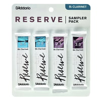 DAddario Woodwinds : Reserve Clarinet Sampler P 2,5