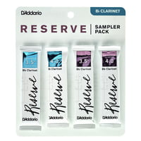 DAddario Woodwinds : Reserve Clarinet Sampl. P 3,5+