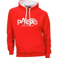 Paiste : Contrast Hoody Red M