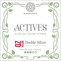 Knobloch Strings : Double Silver Nylon QZ 400ADQ