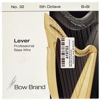 Bow Brand : BWP 5th B Harp Bass Wire No.32