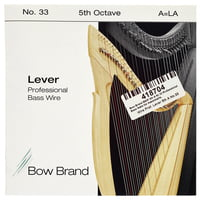 Bow Brand : BWP 5th A Harp Bass Wire No.33