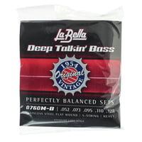 La Bella : 0760M-B Deep Talkin Bass