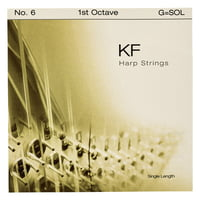 Bow Brand : KF 1st G Harp String No.6
