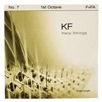 Bow Brand : KF 1st F Harp String No.7
