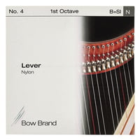 Bow Brand : Lever 1st B Nylon String No.4