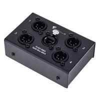 Stairville : RJ45 DMX Split Box MX4-5pin