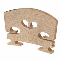 Aubert : Violin Bridge 1/2 Ebony Inlay