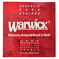 Warwick : Acoustic Bass Strings 4 45-105
