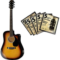Fender : Squier SA-105CE SB Bundle 3
