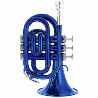 Thomann : TR 25 Bb-Pocket Trumpet Blue