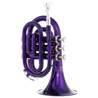 Thomann : TR 25 Bb-Pocket Trumpet Purple