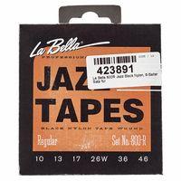 La Bella : 800R Jazz Black Nylon