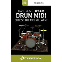 Toontrack : Drum Midi Pack