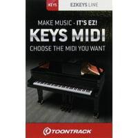 Toontrack : EZkeys Midi Pack Card