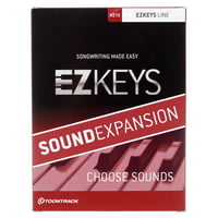 Toontrack : EZkeys Sound Expansion