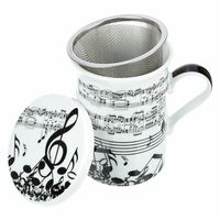 Anka Verlag : Teacup with Tea Strainer