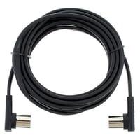 Rockboard : Flat MIDI Cable 300cm Black