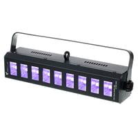 Stairville : Wild Wash 9x3W LED UV BK DMX