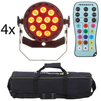 Fun Generation : LED Pot 12x1W QCL RGB W Bundle