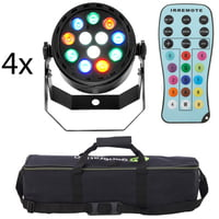 Fun Generation : LED Pot 12x1W RGBW Bundle