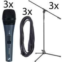 Sennheiser : E835 S 3Pack Bundle