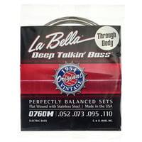 La Bella : 0760M-TB Deep Talkin Bass