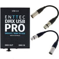 Enttec : DMX USB Pro Interface Bundle