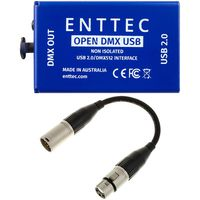 Enttec : Open DMX USB Interface Bundle