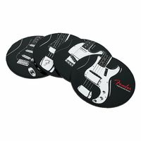 Fender : Classic Guitars Coaster Set