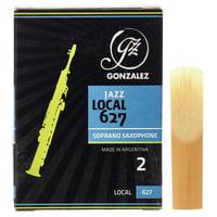 Gonzalez : Soprano Sax Reed Local 627 2