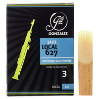 Gonzalez : Soprano Sax Reed Local 627 3