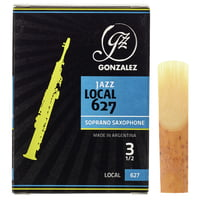 Gonzalez : Soprano Sax Reed Local 627 3,5