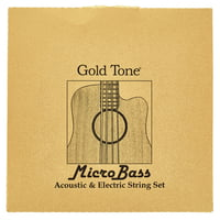 Gold Tone : MBS Micro Bass String Set