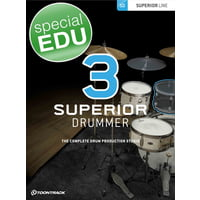 Toontrack : Superior Drummer 3 EDU