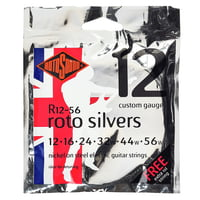 Rotosound : Silvers 12-56 Nickel Strings