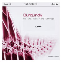 Bow Brand : Burgundy 1st A Gut String No.5