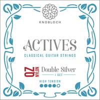 Knobloch Strings : Double Silver Nylon 400KAQ