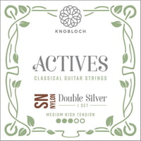 Knobloch Strings : Dbl Silver Special Nyl 400ADN