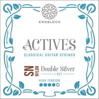 Knobloch Strings : Double Silver Special Nylon400