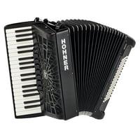 Hohner : Bravo III 80 Black silent key