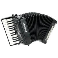 Hohner : Bravo II 60 Black silent key