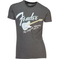 Fender : T-Shirt Orig.Telec. Grey XL