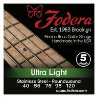 Fodera : 5-String Set Ultralight SS XL