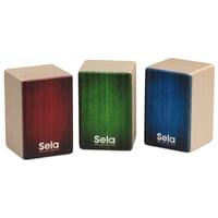 Sela : SE 108 Mini Cajon Shaker Set