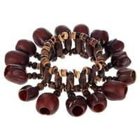 Terre : Bracelet Shaker Kemiri Seeds